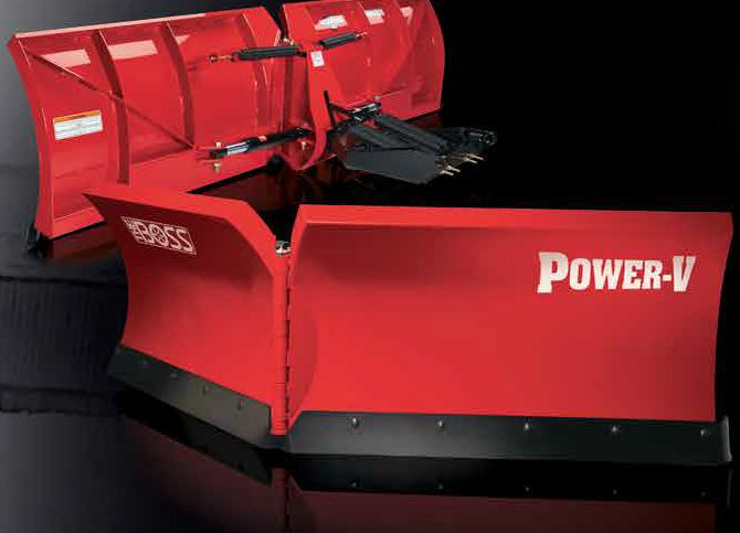 BOSS Snowplow POWER-V BLADE