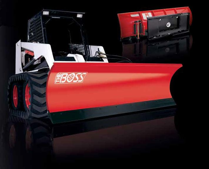 Trip-Edge Skid Steer Plow