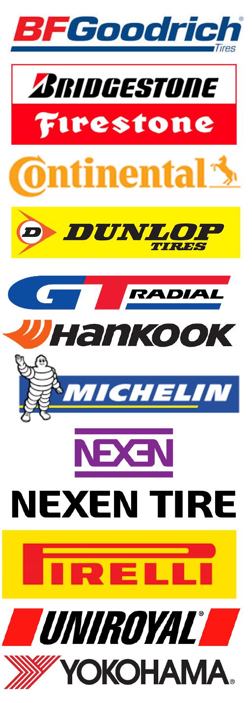 Bowes Exxon Car Care Center TIre Brands